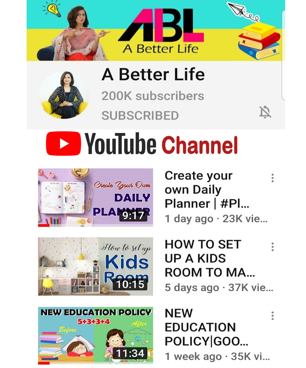YouTube- A Better life