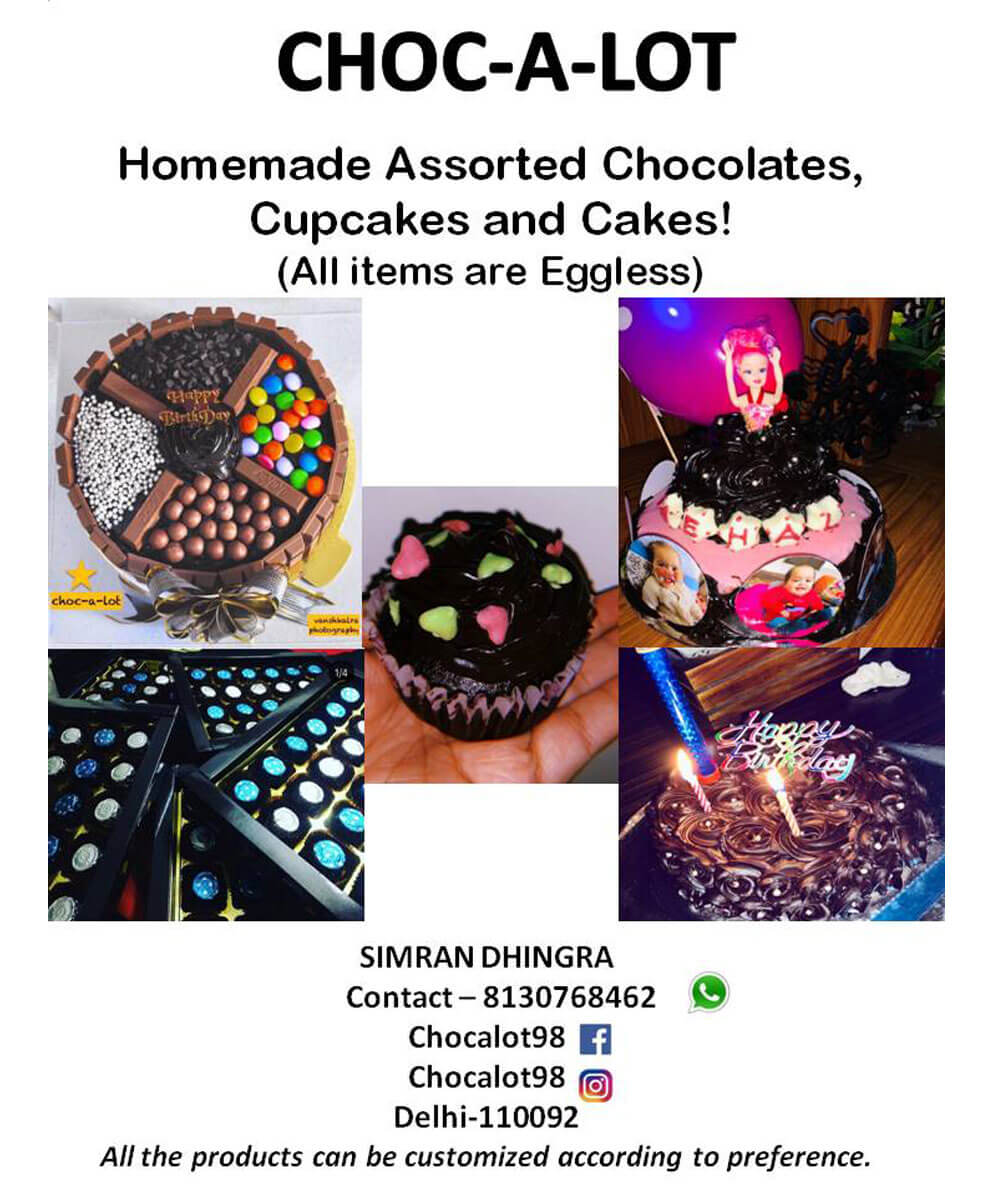 Assorted Chocolates, Cakes, Cupcakes