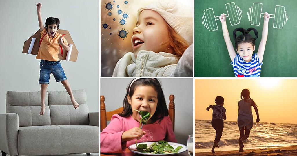 10 ways to boost immunity in kids
