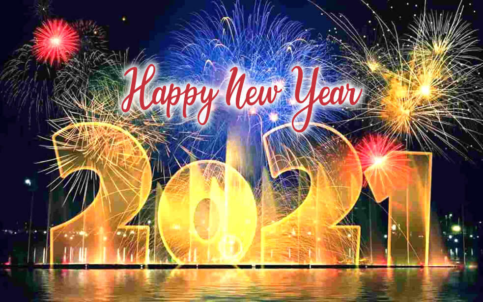 SALUTATIONS TO NEW YEAR 2021